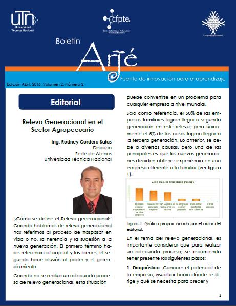 Ver Vol. 2 Núm. 2 (2016): Revista Académica Arjé