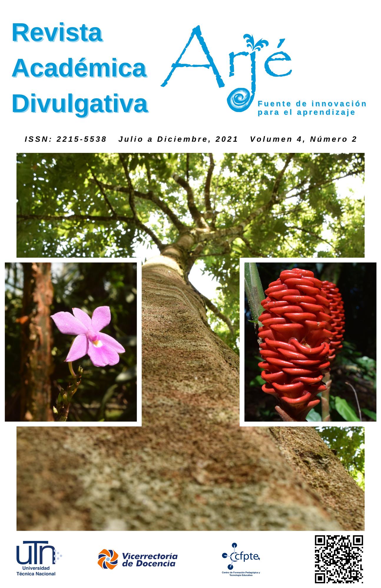 Imagen de la portada de la revista con la fuente de fondo
